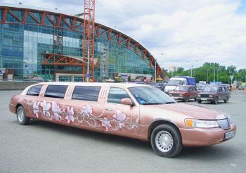 заказ лимузинов екатеринбург